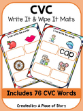 CVC Write and Wipe Mats