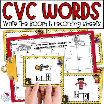 CVC Write the Room **Fall Themed**