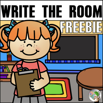 CVC Write the Room Freebie