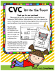 CVC Write the Room - Literacy Center - Workshop - Activities