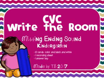 CVC Write the Room Missing Ending Sound