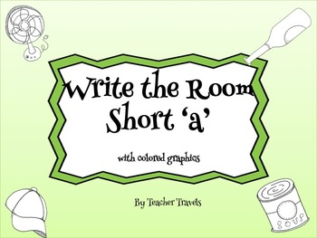 CVC Write the Room Short a