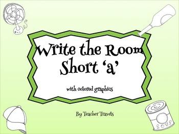 CVC Write the Room Short a