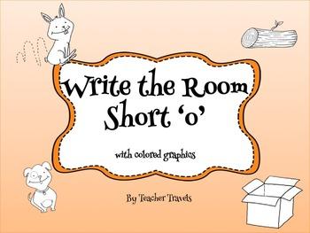 CVC Write the Room Short o