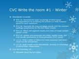 CVC Write the Room - Winter theme