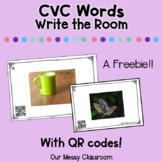 CVC Write the Room with QR Codes