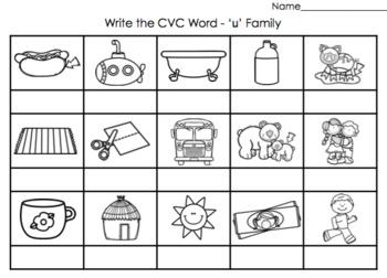CVC - Write the Word