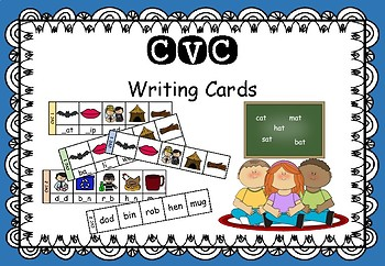 CVC - Writing Cards