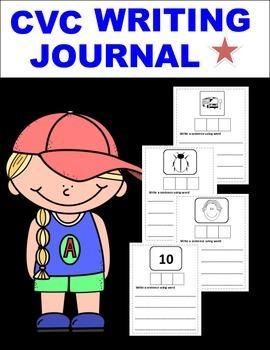 CVC Writing Journal