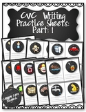 CVC Writing Practice Sheets: Part 1