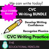 CVC Writing - Short Vowel Sounds BUNDLE