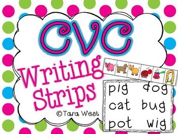 CVC Writing Strips