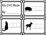CVC Writing Word Book