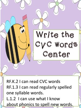 CVC Writing center