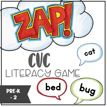CVC - ZAP literacy game