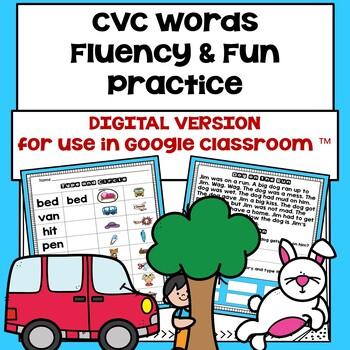 CVC (a, e, i, o, u)  Fluency & Fun Practice
