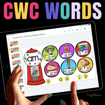CVC activities for Google Classroom™ - Preschool and Kindergarten (Bundle)