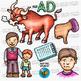 CVC -ad Word Family Clip Art