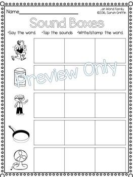 CVC an Word Family Packet ~ Short a