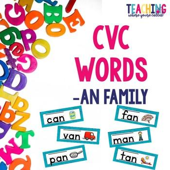 CVC -an Words
