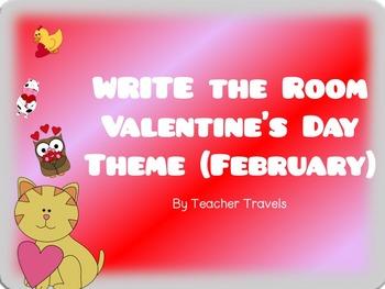 CVC and CVCC Write the Room February Theme