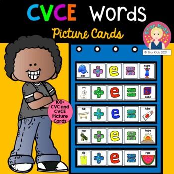 CVCE Cards for K-2