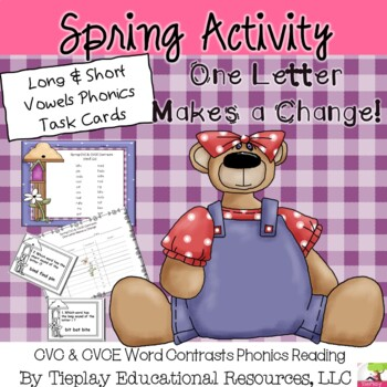 Reading CVC and CVCE Contrasts