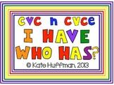 CVC and CVCE I Have Who Has