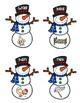 CVC and CVCE Snowman Matching