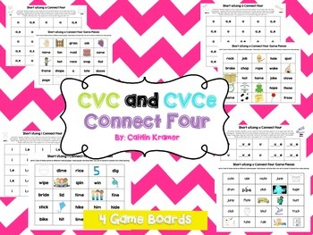 CVC and CVCe Short and Long Vowel Centers