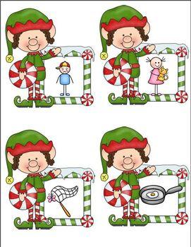 CVC and Christmas Candy! (A CVC Word Building Unit)