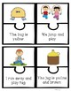 CVC and Dolch Pre Primer Words Reading Comprehension Puzzles