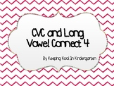 CVC and Long Vowel Connect 4