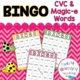 CVC and Magic-e Bingo