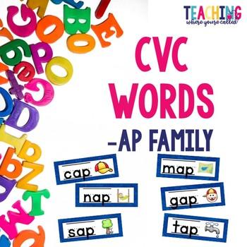 CVC -ap Words