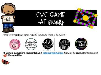 CVC -at Family Game