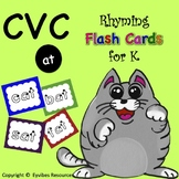 CVC -at Flashcards