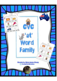 CVC 'at' Word Family