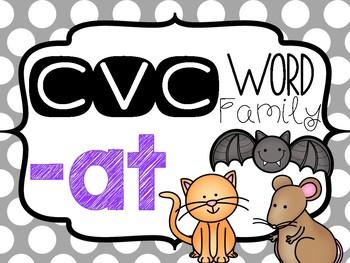 CVC -at Word Family