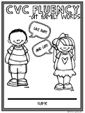 CVC -at family words Word Work