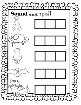 CVC worksheet  at sound