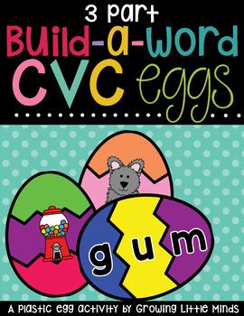 CVC cards for 3-part eggs
