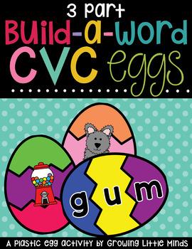 CVC cards for 3-part eggs