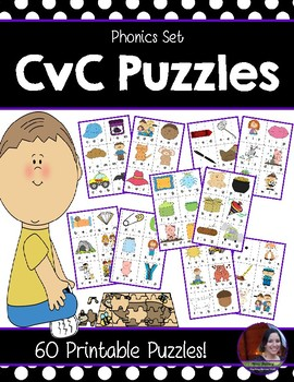 CVC centers Puzzles