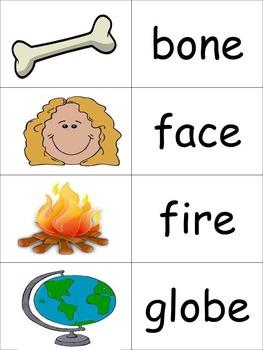 CVC-e Spelling patterns Memory K-2 (***BONUS CVC-e Bingo***)