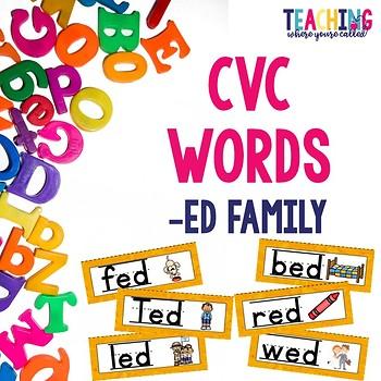 CVC -ed Words