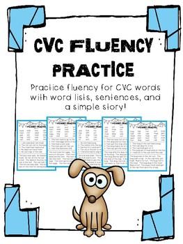 CVC fluency practice
