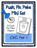 CVC for the letter I - Push Pin Poke  - 15 Pictures & Word