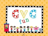 CVC fun for literacy centers