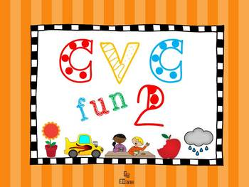 CVC fun for literacy centers 2
